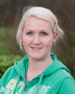 Melanie Ciethier, Krankenschwester